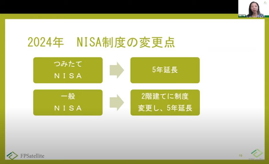 2020年9月改正NISA制度研修の様子