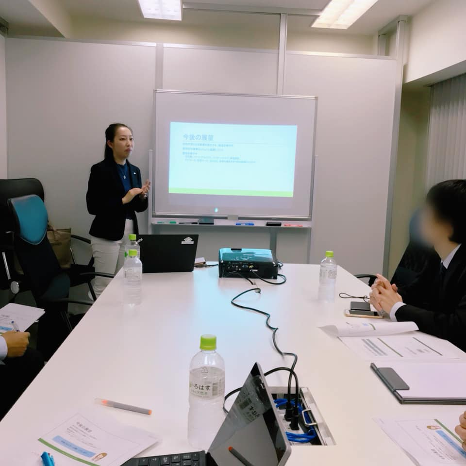 FP長橋様提携先様勉強会で講師を務めました