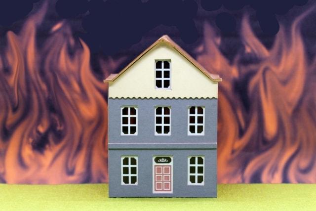もらい火での火災にも火災保険が役に立つ
